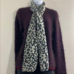 5 for 25 St. John's Bay leopard winter scarf